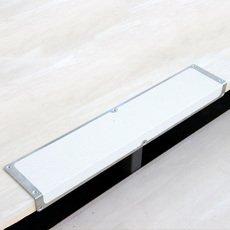 Kantprofil Aluminium, Rengøringsvenlig