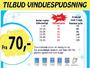 Priser på vinduespudsning